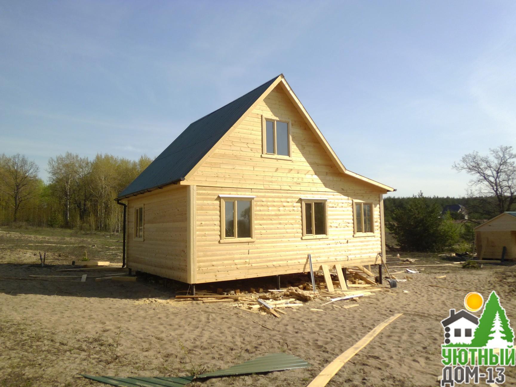 Строительство деревянных домов в Саранске под ключ