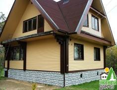 Обшивка деревянных домов