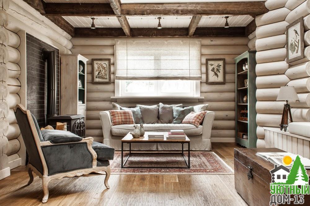 деревянные дома интерьеры