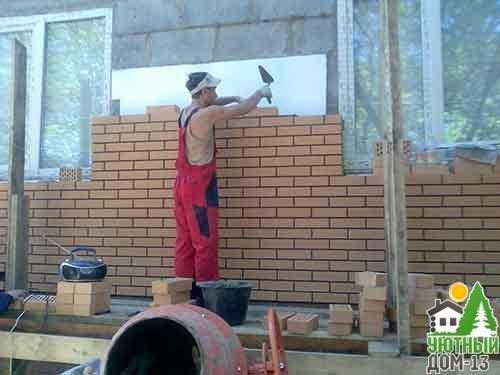 кирпичная кладка стен цена