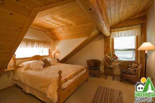 деревянные дома изнутри