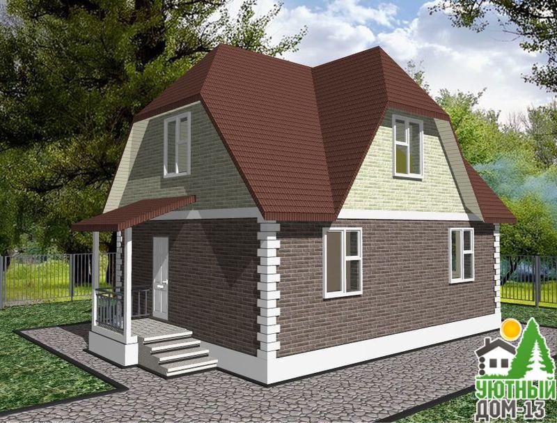 проекты загородных домов из кирпича