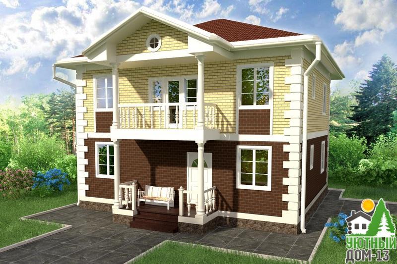строительство домов из пеноблоков 10х10