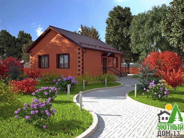 дома из бруса под ключ цена и проект