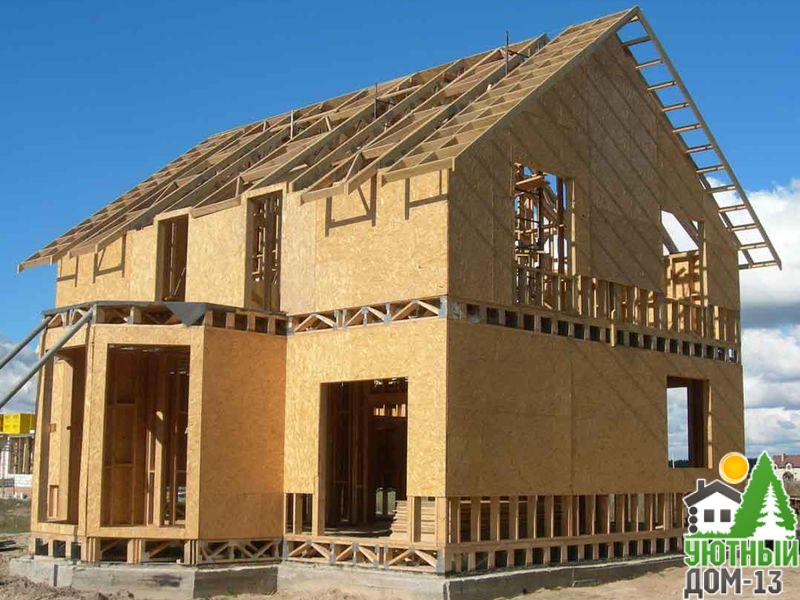 строительство каркасного дома Чебоксары
