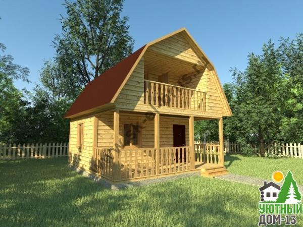 дом из бруса под ключ проект и цены