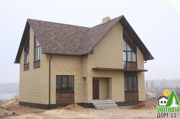 небольшие дома из кирпича