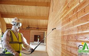 чем пропитывают деревянные дома