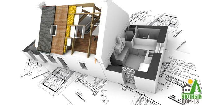 как построить дом коттедж