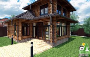 из чего строить загородный дом