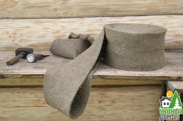 методика конопатки брусового дома