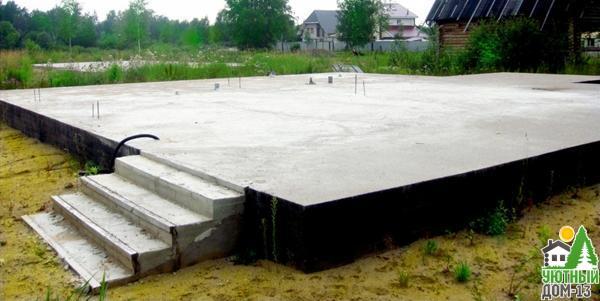 как выбрать фундамент для каркасного дома