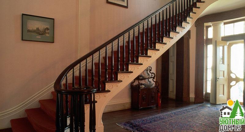 оптимальная высота ступени лестницы в частном доме