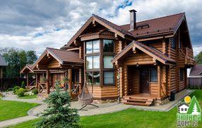 этапы строительства деревянного дома из бревна
