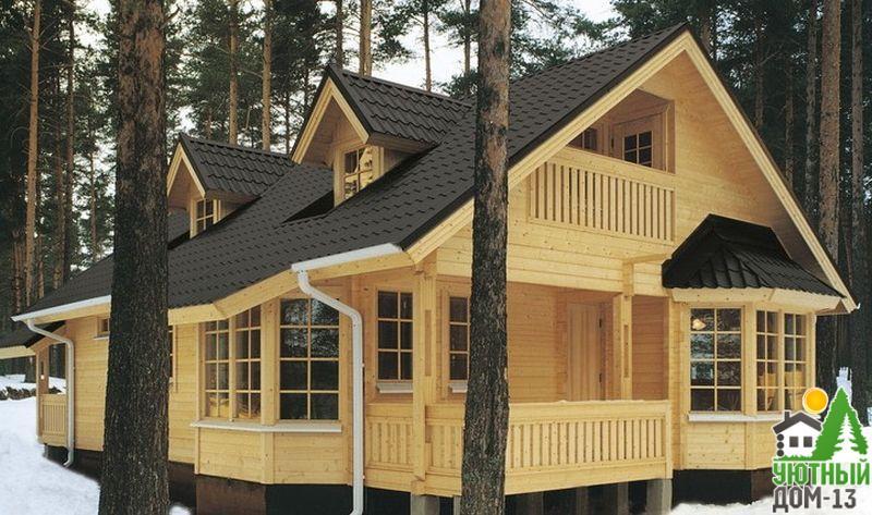 из чего лучше строить дачный дом