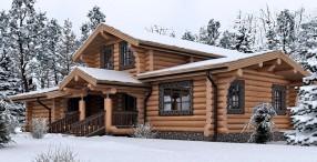 Преимущества и недостатки домов из деревянного сруба