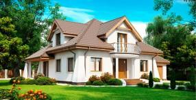 Виды коттеджей и загородных домов