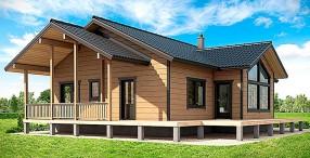 Основные типы конструкций каркасных домов