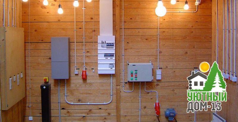 Стоимость монтажа электрики в частном доме