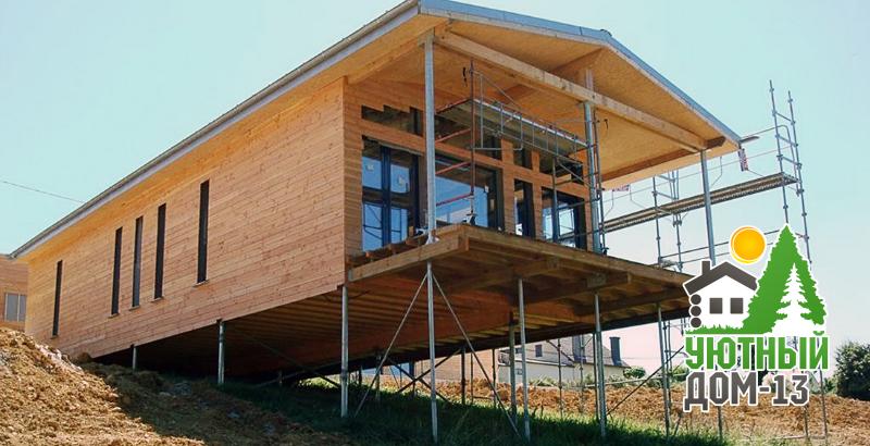 Свайно-винтовой фундамент, использование в строительстве домов