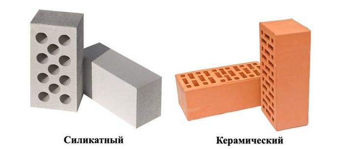 Сравнение кирпича