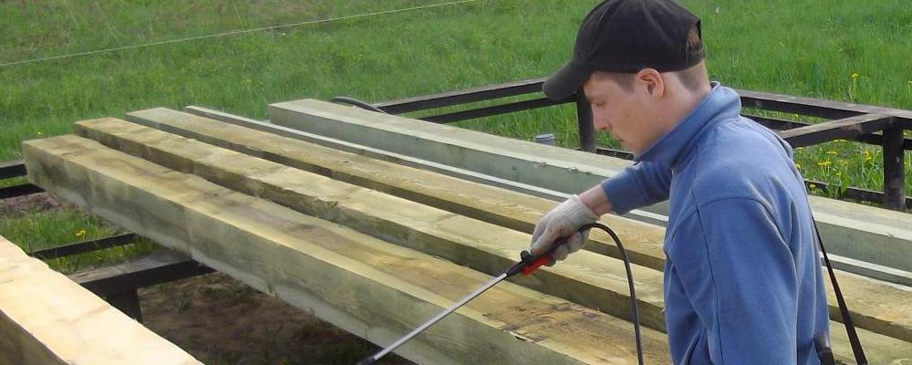 Обработка древесины от плесени